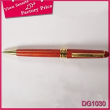 Foreign Trade rotate professional manufacture metal advertising wood color feature ballpoint pen