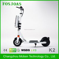 Fosjoas K2 Airwheel Z3 Latest super cheap china 4 wheel electric scooter with handles With Demountable Battery App