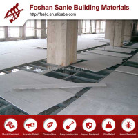 heat insulated fiber cement plank for floor