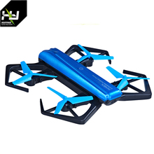 2018 Newest Pocket Mini folding drone with 720p wifi camera selfie drone