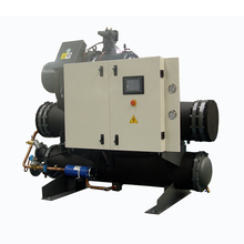 ISO certificated water cooled chiller for shopping malls