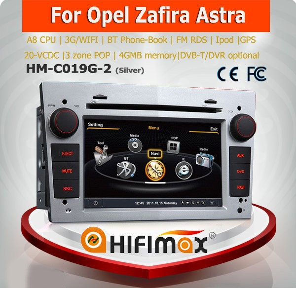 Hifimax 2 din car gps for OPEL VECTRA radio cd/bluetooth car audio for opel vectra 2005-2008