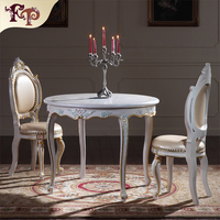 Antique style dining table new design luxury dining room furniture