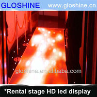 led video dancing floor with anti-slippery mask
