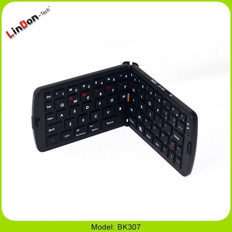 Folding Design Bluetooth Russian Keyboard for Smart TV, Folding Russian Keyboard