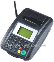 Low cost GSM GPRS/SMS/USSD/STC Wireless POS Printer with Phone