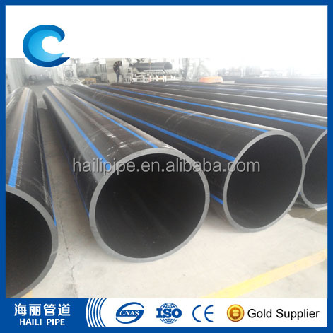 No heavy metal additives PE pipe plastic drinking water pipe