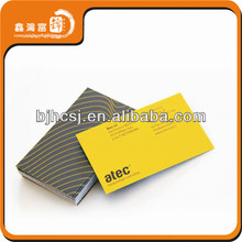 high quality factory price popular embossed business cards