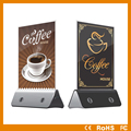 low price restaurant menu stand holder power bank 10000mAh, cafe advertising menu powerbank