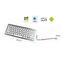 Best selling BT 3.0 Bluetooth Wireless Keyboard for iPad Air 2