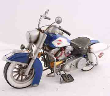 Iron Metal Vintage Motorcycle Model