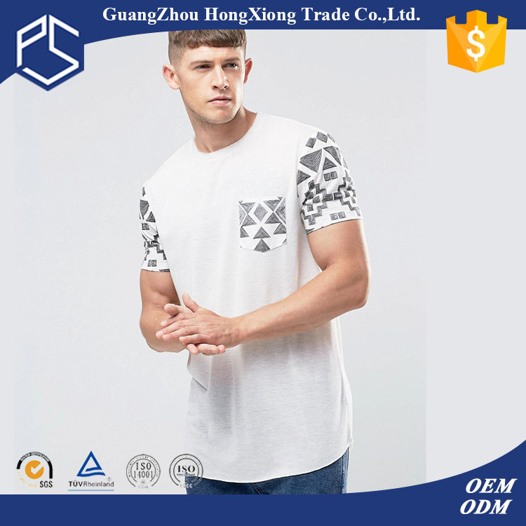 GuangZhou Factory Latest Style Fashionable short sleeve 50 polyester 25 cotton 25 rayon t shirt