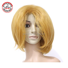 Hot Sale Short Curly Machine Made Sexy Synthetic Wig For Black Women