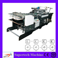 Fully Automatic envelope making machines, Paper Envelope Window Patching Machine