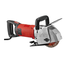 133mm 3000W 5000RPM Industrial Wall Concrete Cutting Machine Wall Chaser For Sale Stone Machinery Cutting Maximum 7pcs Blades