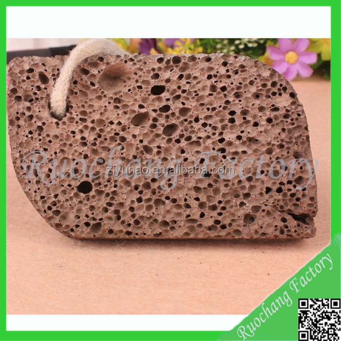 Natrual black spa volcanic pumice stone wholesale for foot