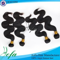 100 % virgin human hair AOFA hair extension for black women