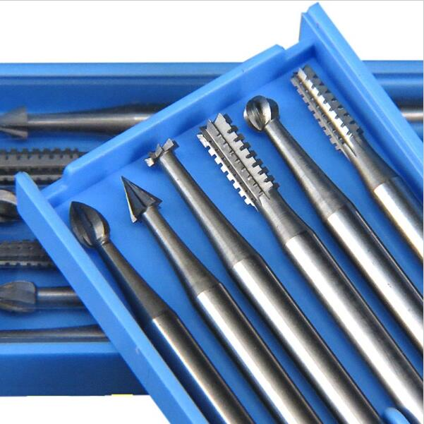 Engraving Tools 6pcs/Set Dremel Rotary Tools Komet Dental Burr