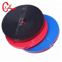 5 Meters B Shape 3M Self Adhesive Silicone Tape EDPM Rubber Car Door Seal Strip