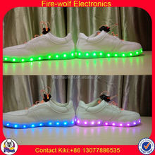 Men Casual Shoes Factory led luminous shoes for dancer