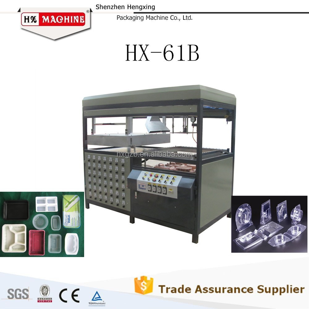 plastic blister tray food box making machine forming machine