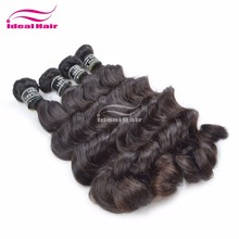 New arrival Indian human hair weaving natural wave 16 inch to 24 inch all in stock