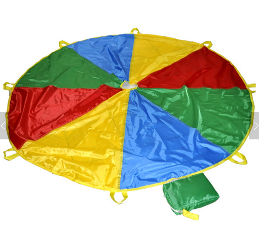 Dia.4m Rainbow Parachute <strong>Game</strong> 8 or 12 Foot For Kid With Carry Bag