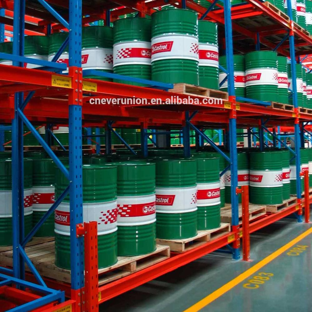 ISO/CE certificate good quality push-back pallet metal rack