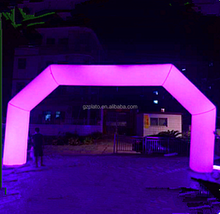 portable and suitable price inflatable arch/inflatable led lighting arch/inflatable arch for wedding or party decoration