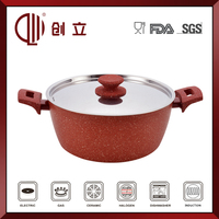 stainless steel lid automatic cooking pot