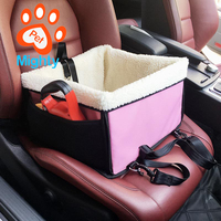 Winter pet car pad cotton bag multipurpose pet car seat bag carrier kennel for cat dog