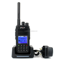TYT MD-380 UHF 400-480MHz 5W Digital Mobile Radio (DMR) Two way Radio Walkie Talkie+programming cable