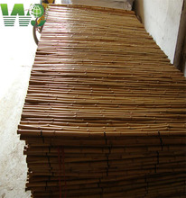 WY T-001 Natural flexiable eco-friendly bamboo border for garden for sale