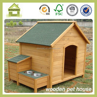 SDD0405 best outdoor wooden dog kennel design
