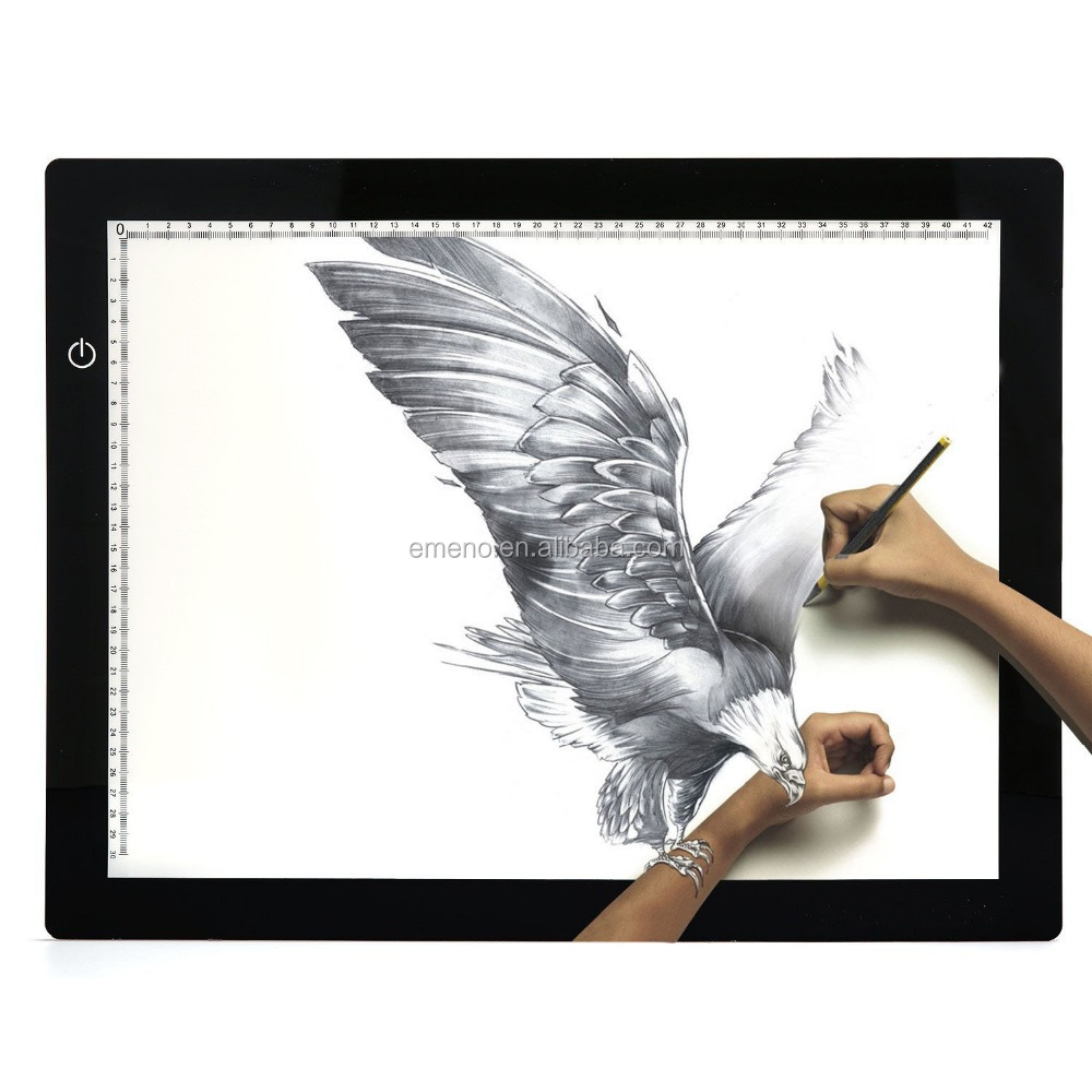 High Quality A4 Digital Tablet Copyboard Drawing Projector Tracing Board <strong>Led</strong> <strong>Light</strong> <strong>Box</strong>