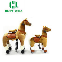 HI CE HOT selling!small rocking horse with wheels rocking horse baby walker for adult for adult