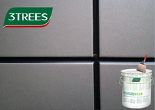 3TREES water-base fluorocarbon silver building wall paint/coating