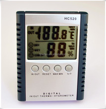 Desk top digital humidity metre, thermo-hygrometer