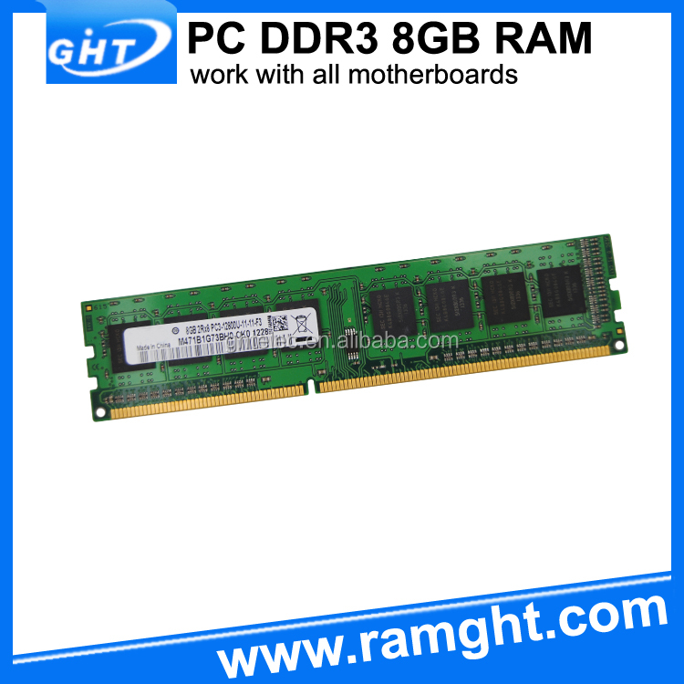 Import computer parts from China desktop 8gb ddr3 ram 1600
