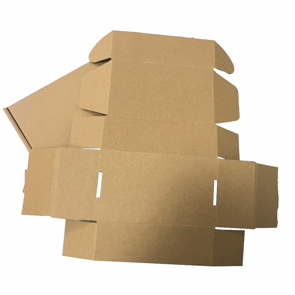 Packaging recycle material folding cheap corrugated box