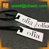 Custom paper clothing hang tag for clothing