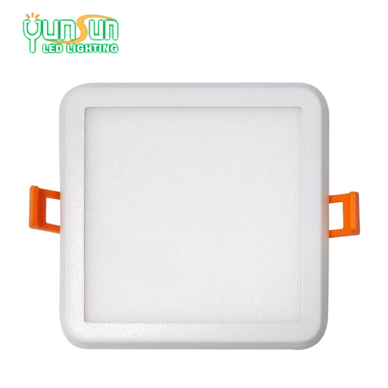 6W 12W 18W led ceiling recessed squared led surface panel light