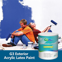 Long Lasting UV Resistant G3 Best Outdoor Paint for House