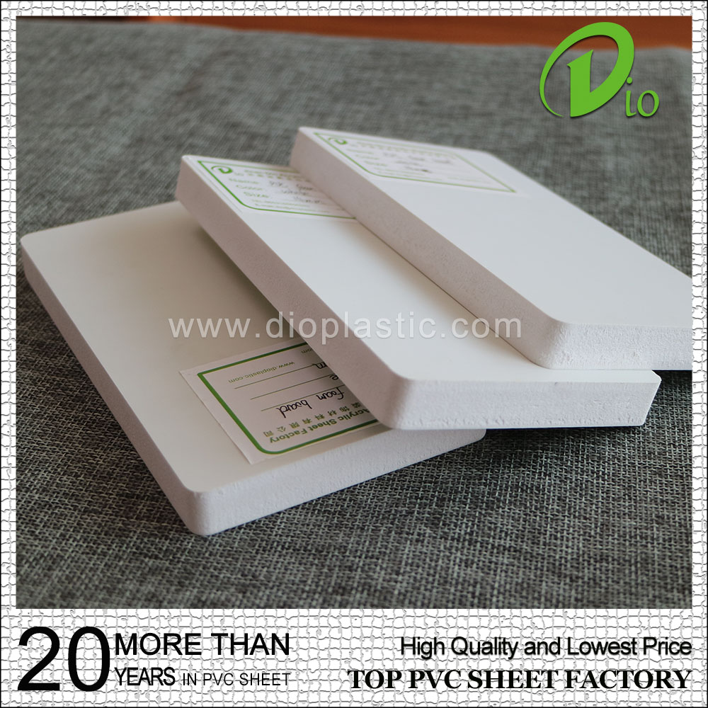 wholesale decoration material double sided adhesive foam sheet pvc