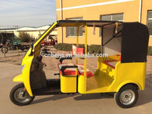 200cc engine easy handle piaggio motor three wheeler with water tank