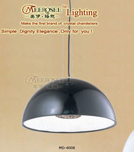 Simplicity & Fashion Resin Black Pendant Lamp MD4008