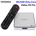 Vensmile Zidoo X6 Pro Factory Smart Android 5.1 Octa Core Zidoo X6 Pro rk 3368 google android 5.1 tv box