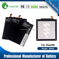 gb t 18287 mobile phone battery msds BM31 for Xiaomi M3