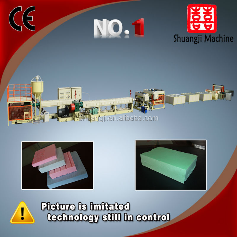 xps foam board extrusion line-edge forming machine