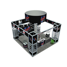 Aluminum Extrusion Trade Show 6x6 Exhibition Booth